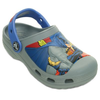 Creative Crocs Batman™ Size 8-9 Kids' Clog in Grey/Blue