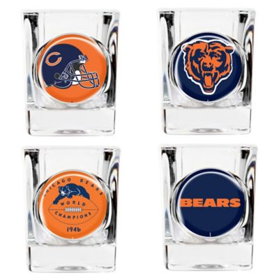 NFL Chicago Bears Collector's Shot Glasses (Set of 4)