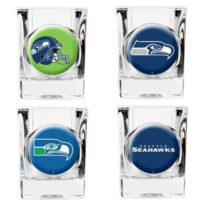 NFL Seattle Seahawks Collector's Shot Glasses (Set of 4)