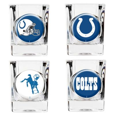 NFL Indianapolis Colts Collector's Shot Glasses (Set of 4)