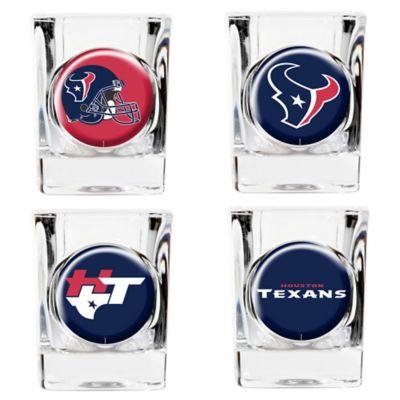 NFL Houston Texans Collector's Shot Glasses (Set of 4)