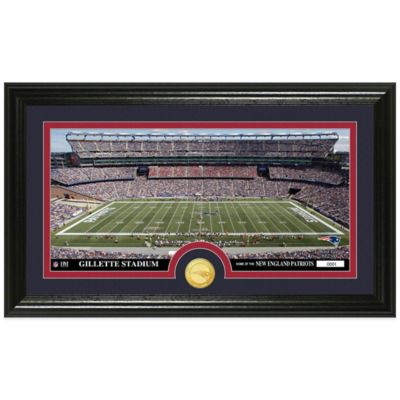 NFL New England Patriots Stadium Panoramic Photo Mint