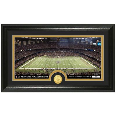 NFL New Orleans Saints Stadium Panoramic Photo Mint
