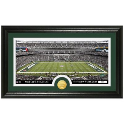 NFL New York Jets Stadium Panoramic Photo Mint