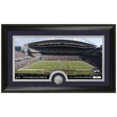 NFL Seattle Seahawks Stadium Panoramic Photo Mint