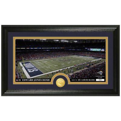 NFL St. Louis Rams Stadium Panoramic Photo Mint