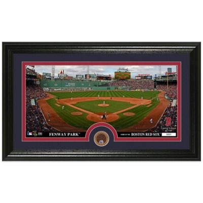 MLB Boston Red Sox Dirt Coin Panoramic Photo Mint