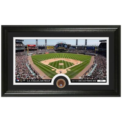 MLB Chicago White Sox Dirt Coin Panoramic Photo Mint