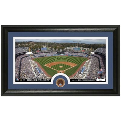 MLB Los Angeles Dodgers Dirt Coin Panoramic Photo Mint