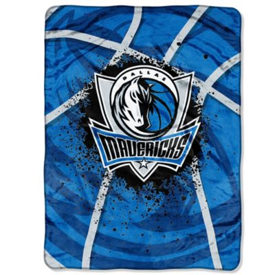 NBA Dallas Mavericks Shadow Play Raschel Oversized Throw Blanket