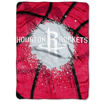 NBA Houston Rockets Shadow Play Raschel Oversized Throw Blanket
