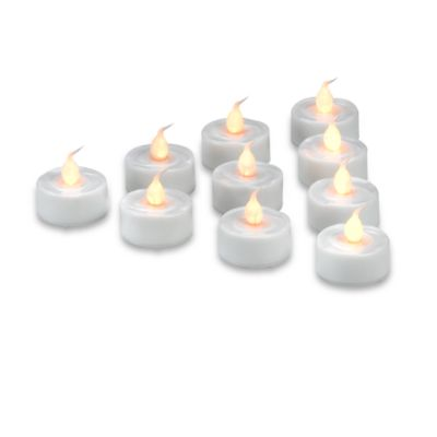 Everlast Flameless Tea Lights (Set of 10)