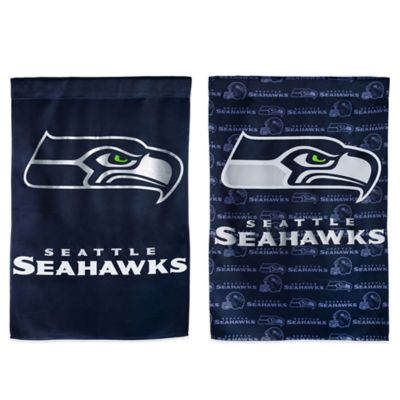 NFL Seattle Seahawks Double-Sided Vertical Glitter Flag