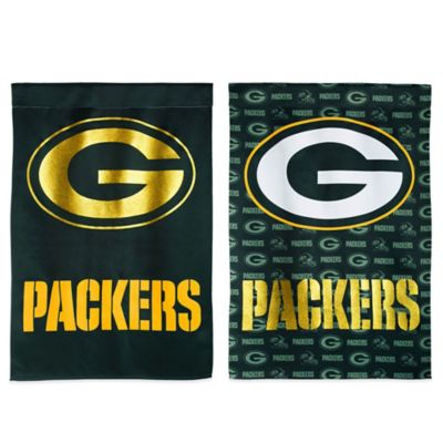 NFL Green Bay Packers Double-Sided Vertical Glitter Flag
