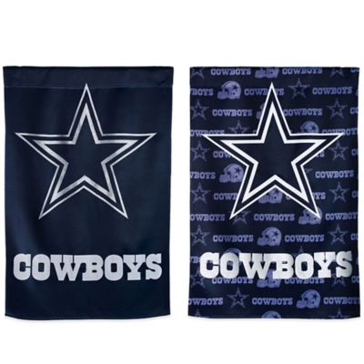 NFL Dallas Cowboys Double-Sided Vertical Glitter Flag