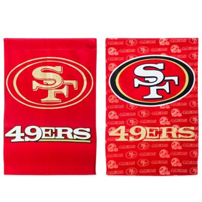 NFL San Francisco 49ers Double-Sided Vertical Glitter Flag