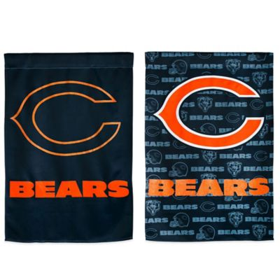 NFL Chicago Bears Double-Sided Vertical Glitter Flag