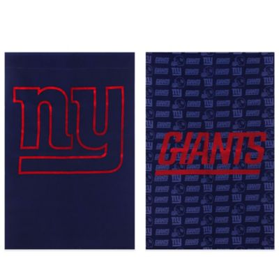 NFL New York Giants Double-Sided Vertical Glitter Flag