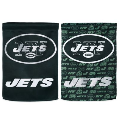 NFL New York Jets Double-Sided Vertical Glitter Flag