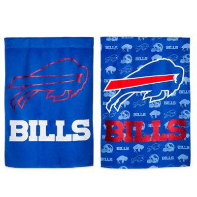 NFL Buffalo Bills Double-Sided Vertical Glitter Flag