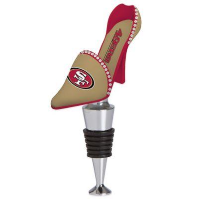 NFL San Francisco 49ers High-Heel Shoe Bottle Stopper