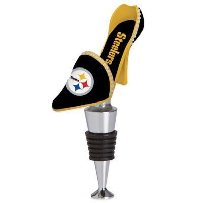 NFL Pittsburgh Steelers High-Heel Shoe Bottle Stopper