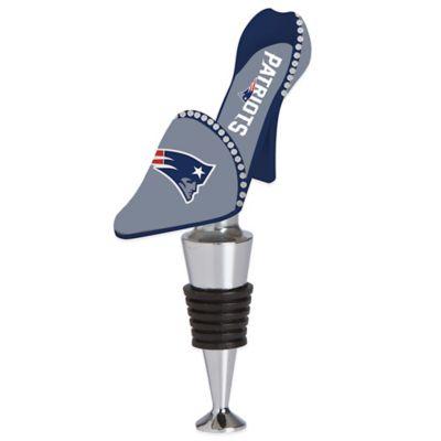 NFL New England Patriots High-Heel Shoe Bottle Stopper