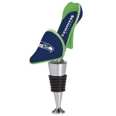 NFL Seattle Seahawks High-Heel Shoe Bottle Stopper