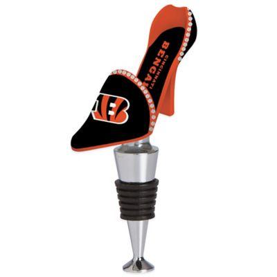 NFL Cincinnati Bengals High-Heel Shoe Bottle Stopper