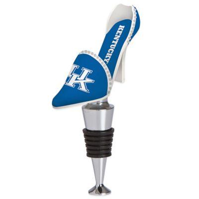 University of Kentucky High-Heel Shoe Bottle Stopper