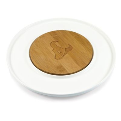 Picnic Time® NFL Houston Texans Island Cutting Board and Tray Set