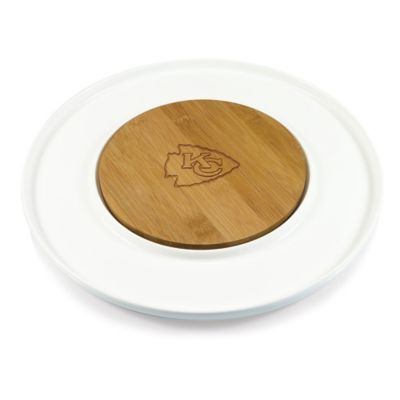 Picnic Time® NFL Kansas City Chiefs Island Cutting Board and Tray Set