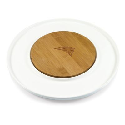 Picnic Time® NFL New England Patriots Island Cutting Board and Tray Set