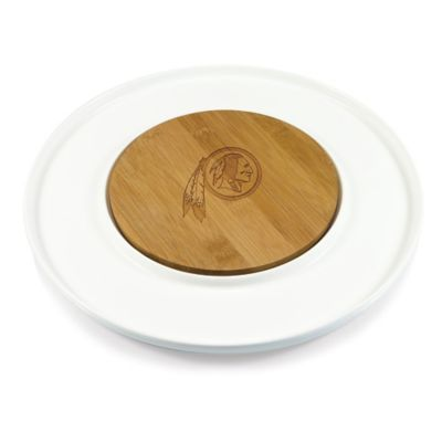 Picnic Time® NFL Washington Redskins Island Cutting Board and Tray Set
