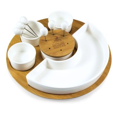 Picnic Time® NFL Cleveland Browns Symphony Appetizer Set