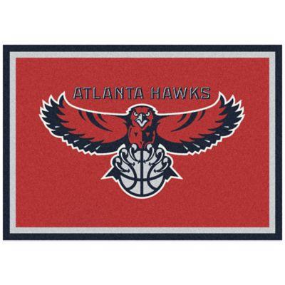 NBA Atlanta Hawks Spirit 5-Foot 4-Inch x 7-Foot 8-Inch Rug
