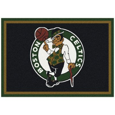 NBA Boston Celtics Spirit 5-Foot 4-Inch x 7-Foot 8-Inch Rug