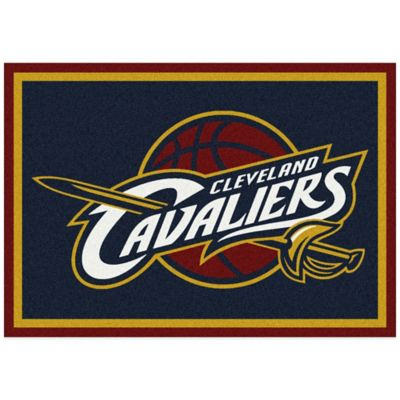 NBA Cleveland Cavaliers Spirit 5-Foot 4-Inch x 7-Foot 8-Inch Rug