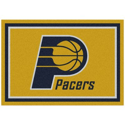NBA Indiana Pacers Spirit 5-Foot 4-Inch x 7-Foot 8-Inch Rug