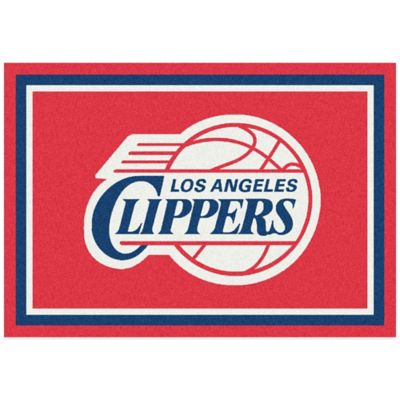 NBA Los Angeles Clippers Spirit 5-Foot 4-Inch x 7-Foot 8-Inch Rug