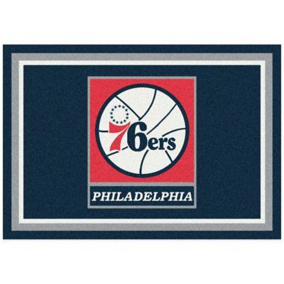 NBA Philadelphia 76ers Spirit 3-Foot 10-Inch x 5-Foot 4-Inch Rug