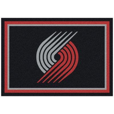 NBA Portland Trail Blazers Spirit 5-Foot 4-Inch x 7-Foot 8-Inch Rug