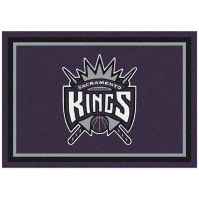NBA Sacramento Kings Spirit 5-Foot 4-Inch x 7-Foot 8-Inch Rug