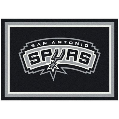 NBA San Antonio Spurs Spirit 5-Foot 4-Inch x 7-Foot 8-Inch Rug