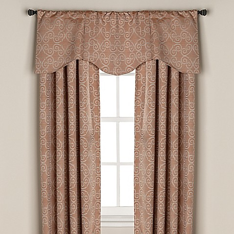 captiva rod pocket back tab window curtain panel www. Black Bedroom Furniture Sets. Home Design Ideas
