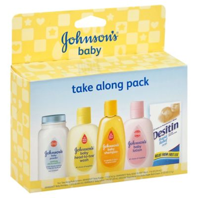 Johnson & Johnson® Baby Take Along Trial Pack
