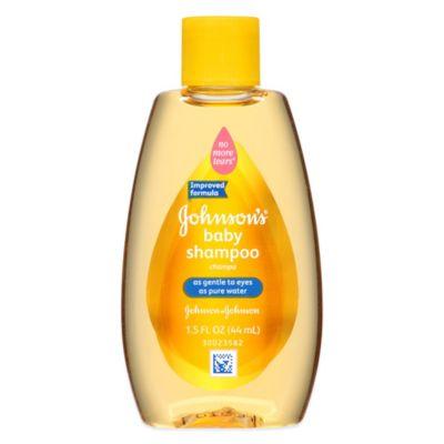 Johnson & Johnson® 1.5 oz. Baby Shampoo