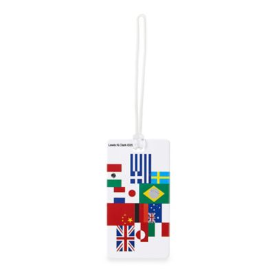 International Flag ID Luggage Tag