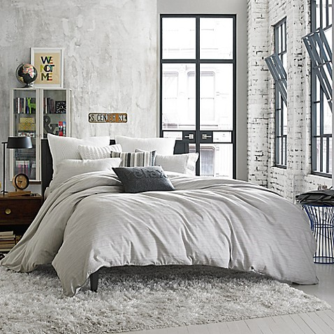 Kenneth Cole Reaction Home Element Reversible Duvet Cover