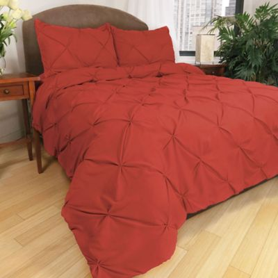 Park B. Smith® Ltd Pouf Down Alternative Full/Queen Comforter Set in Ginger